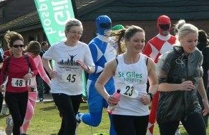 The St Giles Hospice Lichfield 5K run