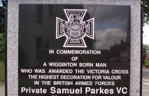 The Wigginton war memorial