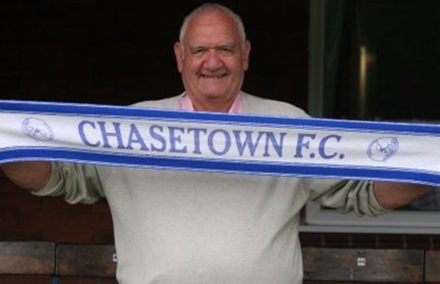 Norris Russell. Pic: Chasetown FC