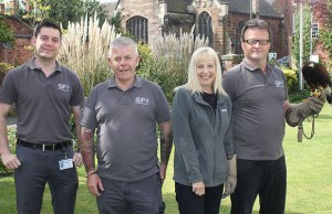 Members of the Opkill pest control team