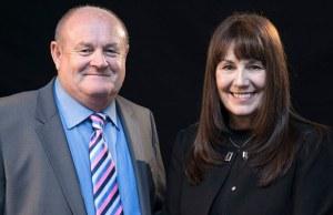 John Woodward and Marg Randles