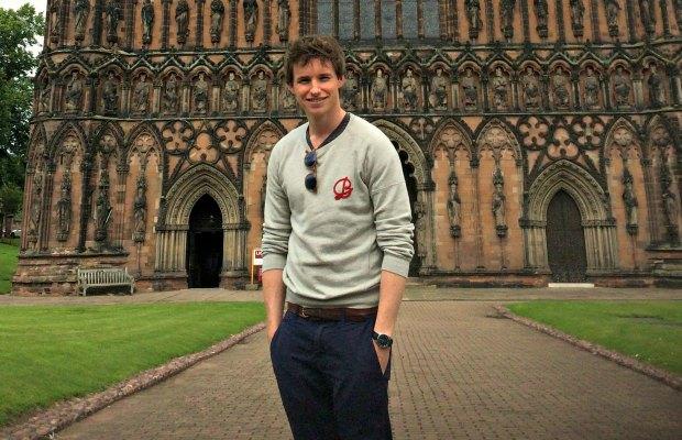 Eddie Redmayne at Lichfield Cathedral