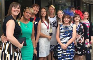 Lichfield Ladies Circle at the national celebration event