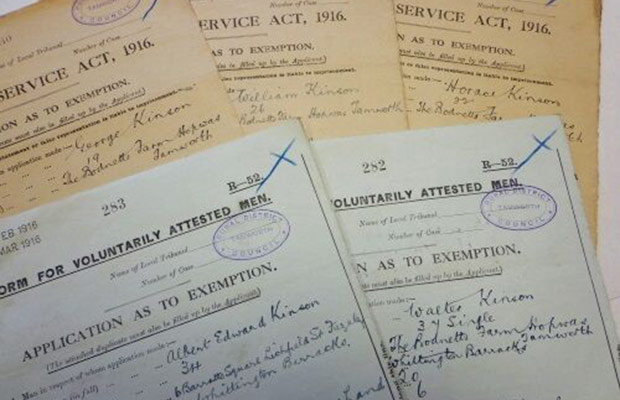Some of the military appeal tribunal records