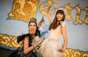Sleeping Beauty stars Siani Owen and Rebecca Keatley