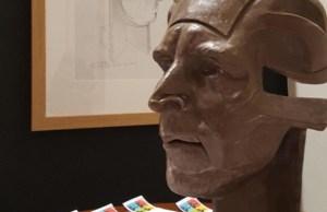 The David Garrick mask created by Peter Walker