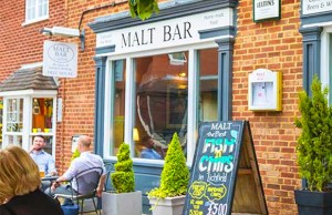 The Malt Bar in Lichfield