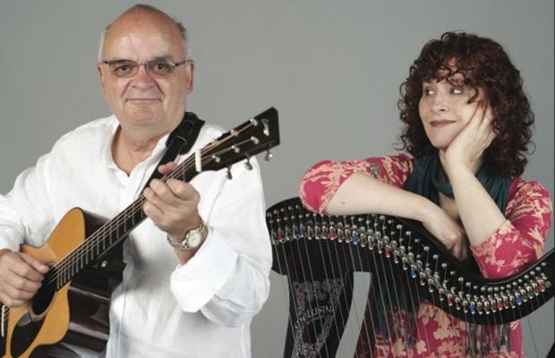 Chris Newman and Marie Ni Chathasaigh
