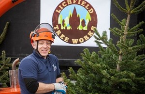 Nick Meade from Lichfield Tree Works