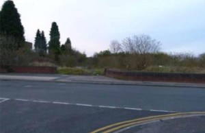 Part of the site of the proposed new retail development in Burntwood