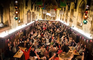 The Lichfield Winter Beer Festival. Pic: Rob Ings