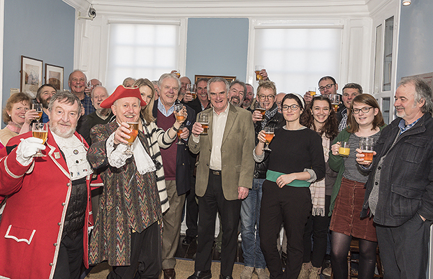 Lichfield Real Ale Trail's first birthday celebrations