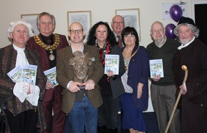 Guests at the launch of the Visit Lichfield guide