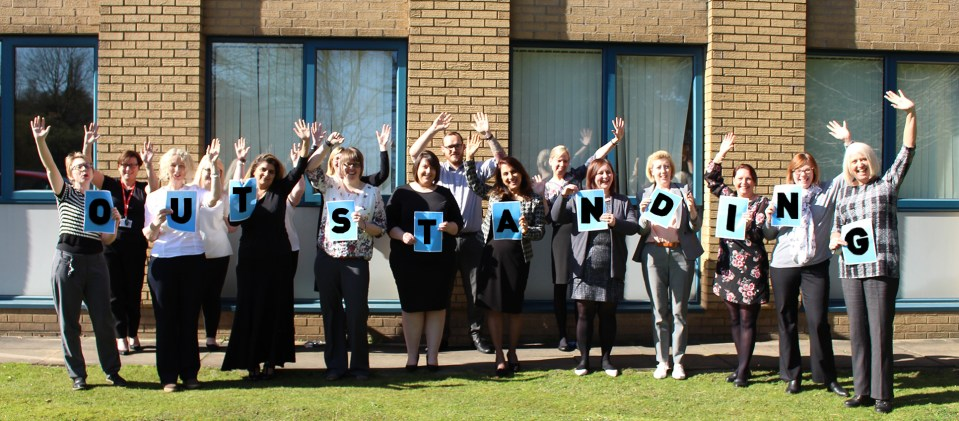 Busy-Bees-Training-celebrates-Outstanding-Ofsted-report
