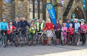 The Lichfield St Chad Rotary Club's Ride4Health