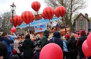 James and the Red Balloon launch at Drayton Manor