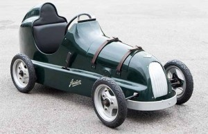 The classic pedal car going under the hammer