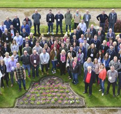 Cameron Homes staff at the company's annual conference