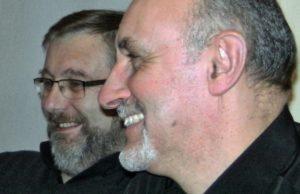 Ian Parkes and Nigel Lowe