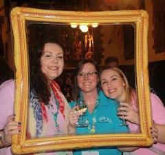 Members of Lichfield Ladies Circle celebrating their success