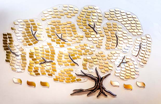 The new Memory Tree at St Giles Hospice