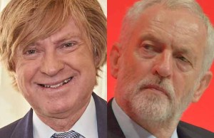 Michael Fabricant and Jeremy Corbyn