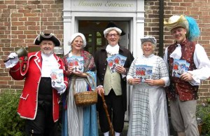 The launch of the What's On guide at Erasmus Darwin House