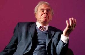 Sir David Attenborough. Pic: Mikedixson
