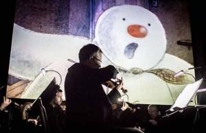 The Snowman. Pic: Gareth Widdowson