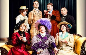 The cast of The Importance of Being Earnest