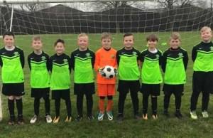 Midland Soccer Academy's under 10 team