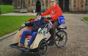 The Lichfield Re:Cycle trishaw
