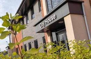 City House in Lichfield