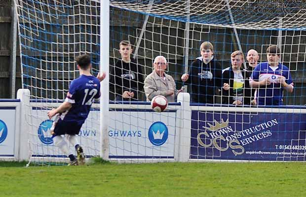 Danny Cocks makes it 5 for Chasetown