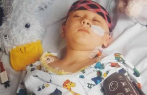 Bethany during her cancer treatment
