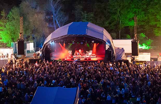 The main stage at Bearded Theory. Pic: Sam Dawson
