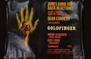 The Goldfinger poster