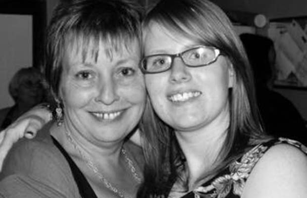 Rachel McLarney with her mother Lesley