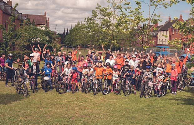 The 2017 Lichfield Jolly ride. Pic: Petit Memories Photography