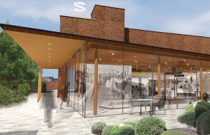An artist's impression of the new Staffordshire History Centre