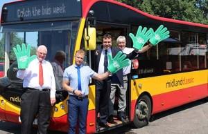 Midland Classic celebrating Catch the Bus Week