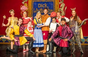 The cast of Dick Whittington