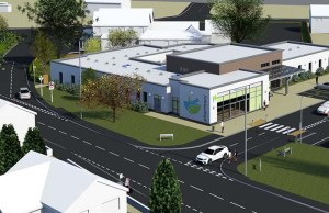 An artist's impression of the new medical centre in Burntwood