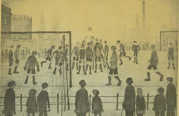 Lowry's The Football Match