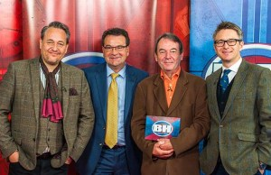 Bargain Hunt experts with Richard Winterton