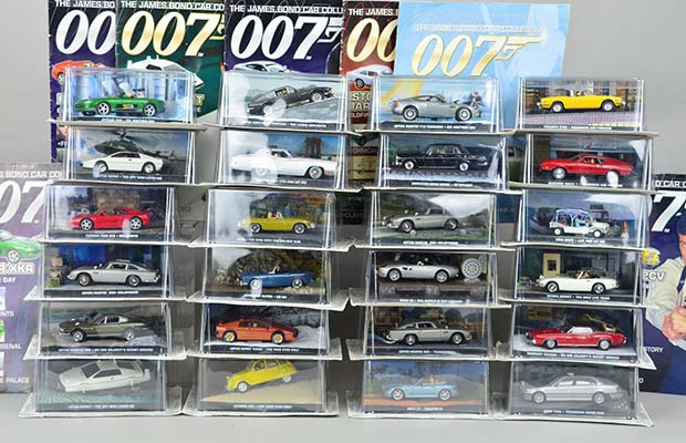 The Bond cars going up for auction in Lichfield