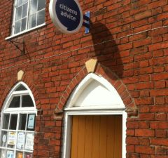 The Lichfield Citizens Advice office