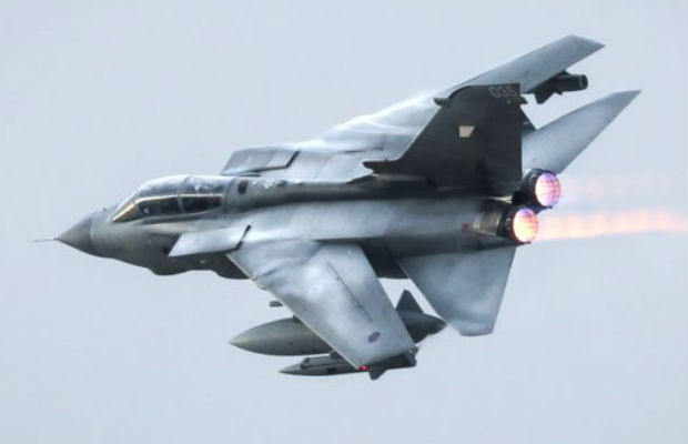 A Tornado. Pic: Ministry of Defence