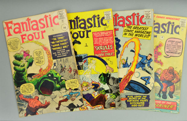 Some of the Marvel comics