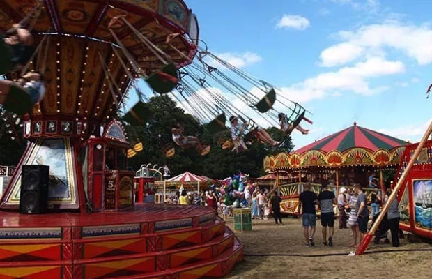 Carters Steam Fair in Lichfield. Pic: Josh Latimer Photography